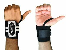 ROCK Weight Lifting Wrist Wraps Bandage Hand Support Gym Straps Brace Cotton