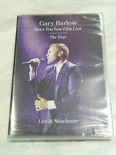 "GARY BARLOW - SINCE YOU SAW YOU LAST ""LIVE"" IN MANCHESTER: DVD (December 15 2014"