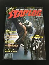 STAR WARS LUKE SKYWALKER & YODA 1980 STARLOG MAGAZINE , BUCK ROGERS, STAR TREK