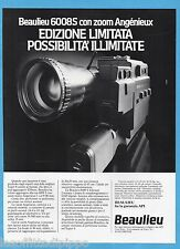 AIRONE982-PUBBLICITA'/ADVERTISING-1982- BEAULIEU  6008S CON ZOOM ANGIENIEUX