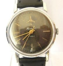 """VINTAGE EARLY RUSSIAN MEN'S""""RAKETA""""WATCH VERY RARE WITH PLANE,21 JEWELS,cal2609A"""