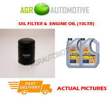 DIESEL OIL FILTER + LL 5W30 ENGINE OIL FOR TOYOTA COROLLA 2.0 116 BHP 2004-07