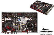 Skin Decal Wrap Denon DN MC 6000 DJ Controller Interface Pro Audio BONES BLACK
