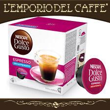 Caffè Nescafè Dolce Gusto Krups 192 Capsule Cialde Espresso Deca - Originali