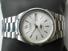 Rare Vintage CITIZEN MIDSIZE 32mm CALSSIC SILVER SS Gents Automatic WristWatch
