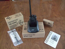 Kenwood TK-2360 VHF Handheld Two Way Radio! With all Accessories! Always New!