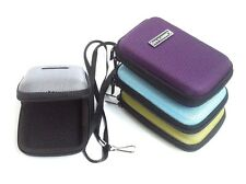 Lime Green Compact Universal Nylon Hard Shell Case Bag For Small Digital Camera