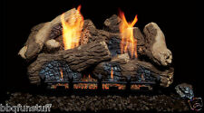 Monessen Natural Blaze Vent Free Gas Log Set BO30-R + NB24NV New