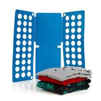 NEW Clothes T-Shirts Dress Pants Flip Fold Folding Board Organizer Fast Speed