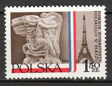 Poland - 1978 French monument for polish soldiers - Mi. 2583 MNH
