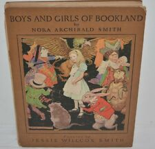 1923 Boys Bookland by Smith HC Alice in Wonderland