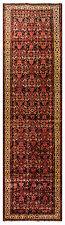 Orientteppich Perserteppich Läufer 419 x 115cm Handgeknüpfter Teppich Schurwolle