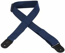 """Levy's M8Poly-NAV 2"""" Poly Guitar Strap Navy"""