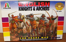 Italeri 100 Years War English Knights & Archers 12 figure model kit #6859 1/32