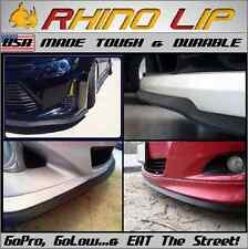 Universal Front Lower Facia Under-Bumper Rhino-Lip Rubber Chin Spoiler Splitter
