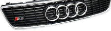 Audi A3 S3 8L front radiator grill grille with S3 logo chrome frame