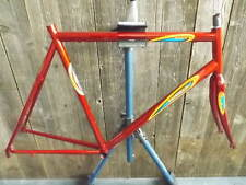 New-Old-Stock Bertin Frame and Fork (56 cm) w/Butted Steel Tubes...Red Finish