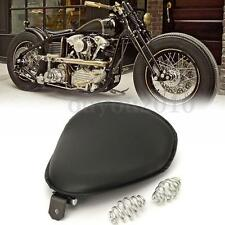 "15"" Selle Softail Solo & 3"" Argent Ressorts Support Pour Harley Sportster Bobber"