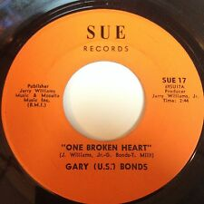 Gary (U.S.) Bonds: One Broken Heart / I Can't Use You In My Business 45 - Soul