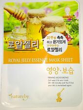 Natureby Royal Jelly Essence Mask K-Beauty 1pcs
