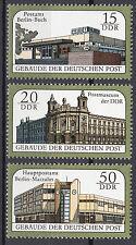 DDR 1988 Mi. Nr. 3145-3147 Postfrisch ** MNH
