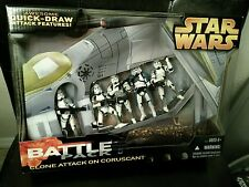 Star Wars Clone Trooper Attack on Coruscant Battle Pack 2005