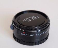 Kenko M-af 1.4X Teleplus Minolta AF en su original caso
