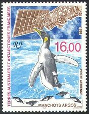 FSAT/TAAF 1998 Penguins/Birds/Argos Satellite/Space/Science/Research 1v (n23405)