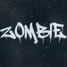 Bloody Zombie Car Decal Vinyl Sticker For Window Panel Bumper