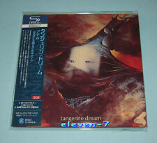 TANGERINE DREAM Atem JAPAN mini lp cd SHM 2 CD brand new & still sealed