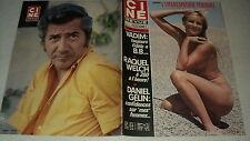 CINE REVUE 72/31 (3/8/72) JEANGE DESCLEE DANIEL GELIN RAQUEL WELCH ARLETTY BLIER