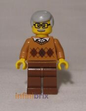 Lego Grandfather / Grandad from set 60134 Fun in the Park Town / City NEW cty659