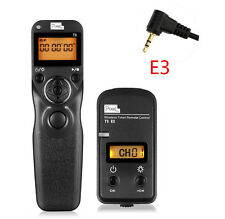 PIXEL TW283/E3 2.4GHz  Wireless Timer Remote Control for CANON EOS 70D 60D 700D