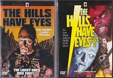 THE HILLS HAVE EYES Parts 1 & 2 [One,Two]  Wes Craven 1970s Cult Horror DVD *EXC