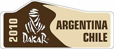 Rally Motorsport Vinyl Decals Dakar Rally Argentina Chile 2010 Stickers x 2