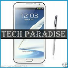 Stylet Stylus Spen pour for Samsung Galaxy Note 2 GT N7100 SCH SGH Blanc White