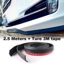 Car Bumper Lip Deflector Side Skirt Body Kit Rear Bumper Tuning Ture 3M Tape