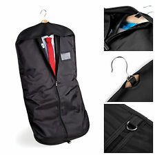 BLACK SUIT CARRY copertura indumento TRAVEL Storage PROTECTOR BAG titolare vettore