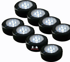 8 Piece Mobile Touch on Lamp with 4 LED's incl. Batteries allrounder im