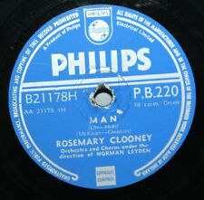 "10"" 78 - Rosemary Clooney / Jose Ferrer - Man / Woman - Philips PB220 - 1954"
