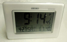 SEIKO GLOBAL R/WAVE FOR DESK OR WALL PLACEMENT WITH THERMOMETER, & HYGROMETER