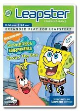 Leapfrog Leapster Learning Game SpongeBob Squarepants Saves the Day K-1 5-7 year