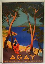 CPM REPRODUCTION AFFICHE ANCIENNE / AGAY / R. BRODERS