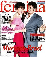 VERSION FEMINA N°652 29 SEPTEMBRE 2014  MARCEAU&BRUEL/ CYRULNIK/ MACEDOINE/ MODE