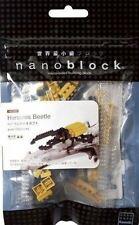 Hercules Beetle Nanoblock Miniature Building Blocks New Sealed Pk 1st 001