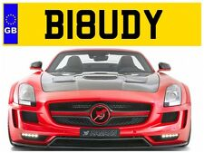 B18 UDY BUDDY BUDDYS COOL FUN BUD MATE FRIEND AMUSING PRIVATE NUMBER PLATE BMW