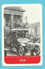 Kaiser Wilhelm II WWI 1918 Revolution Cool Collector Card from Europe