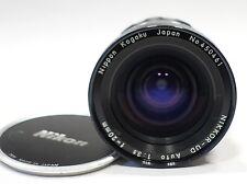Nikon Nikkor UD 20mm 1:3.5 Nippon Kogaku factory Ai lens, fits DSLR camera mount