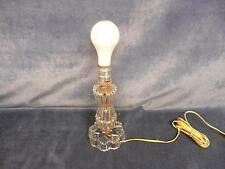 Vintage retro antique Leviton crystal counter top lamp home electronics vtg