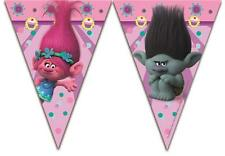 Dreamworks Trolls Plastic Party Flag Banner Bunting